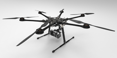 s800 Flying Video Platform